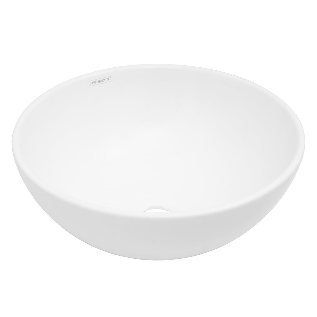 Bowl Verona Para Sobreponer - Blanco