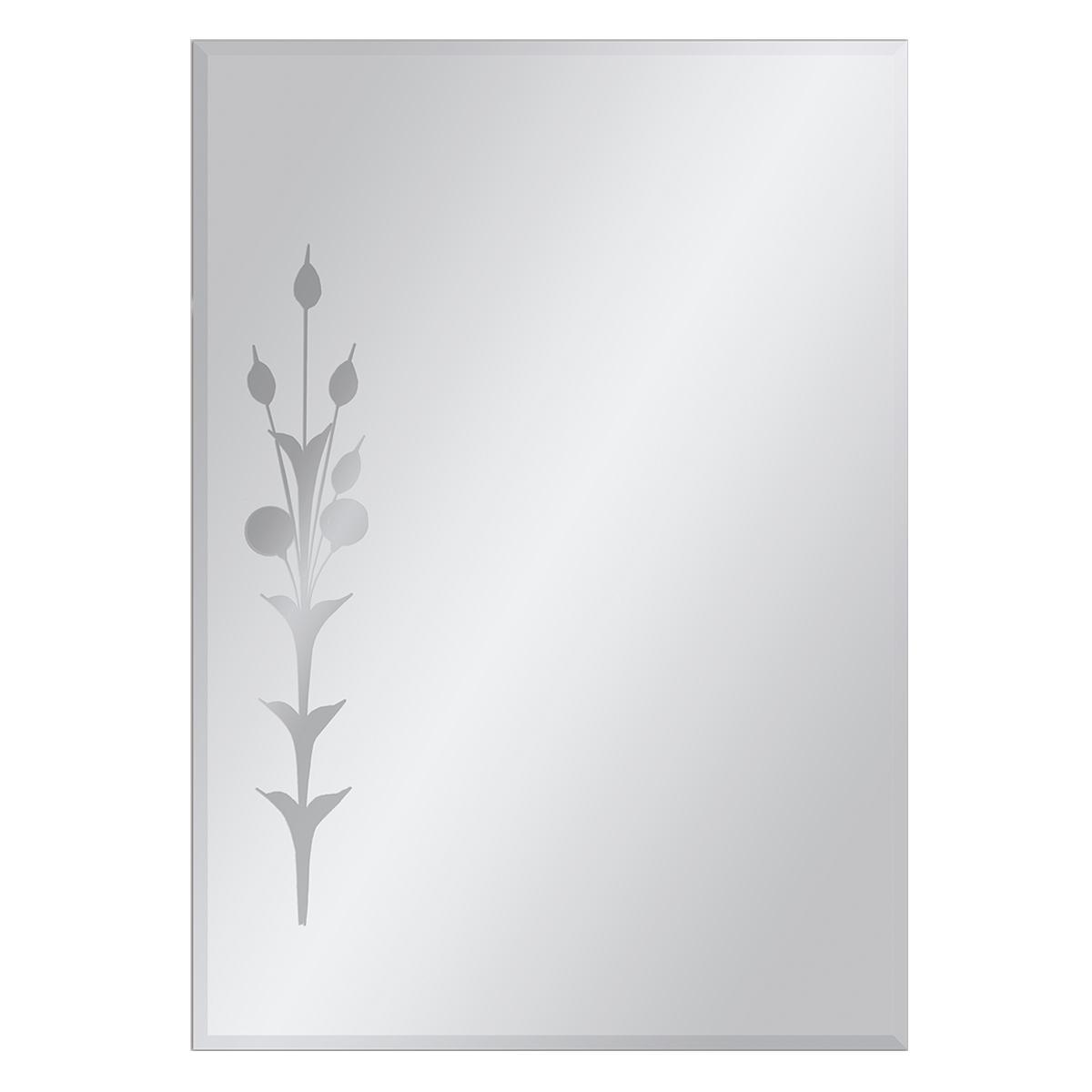 Espejo Tulipan Cristal Tallado