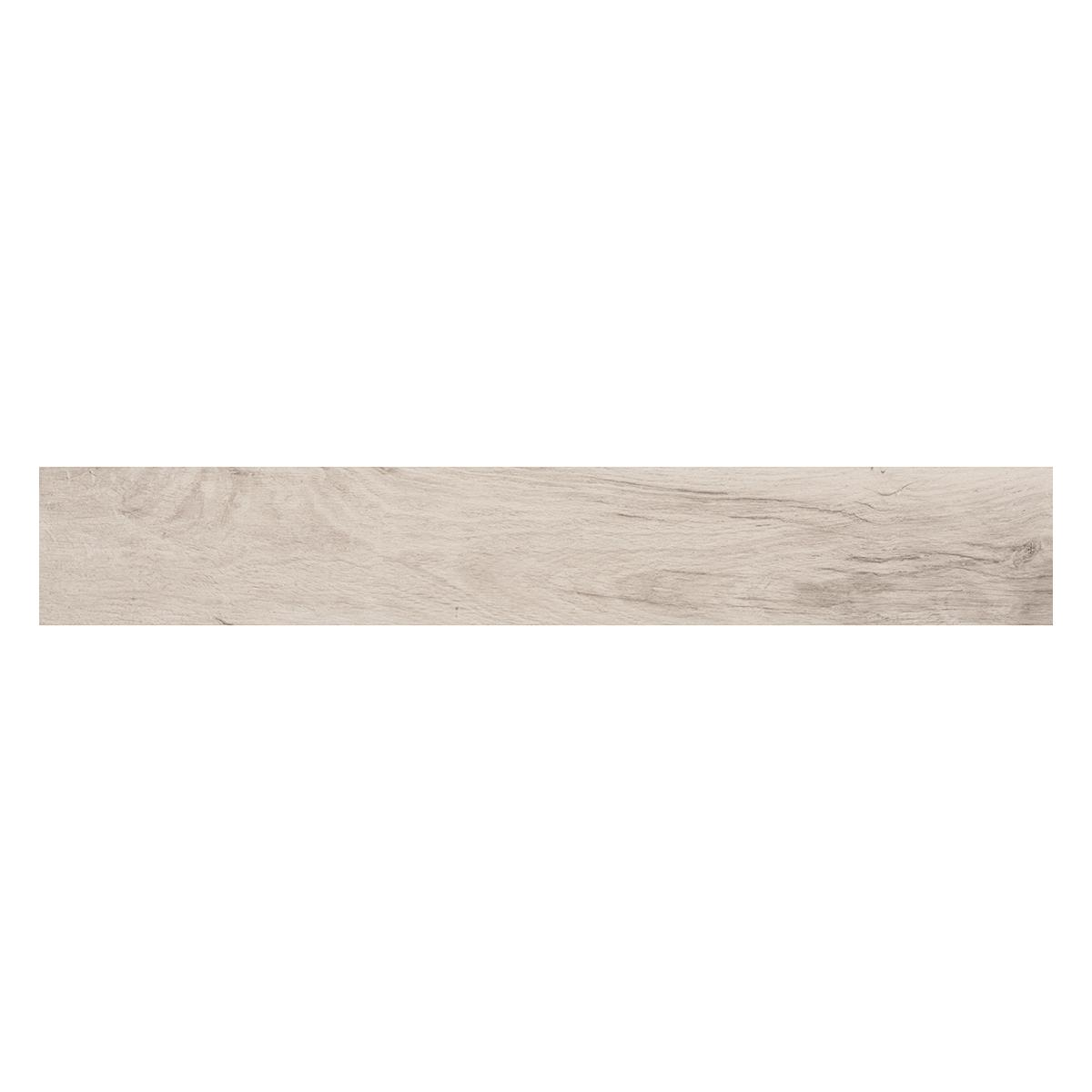 Porcelanato Feelwood White Natural Rectificado - 15X90 cm - 0.94 m2
