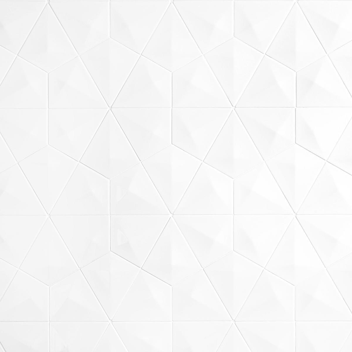Inserto Diamond Blanco Brillante - 16.5X19 cm - 0.39 m2