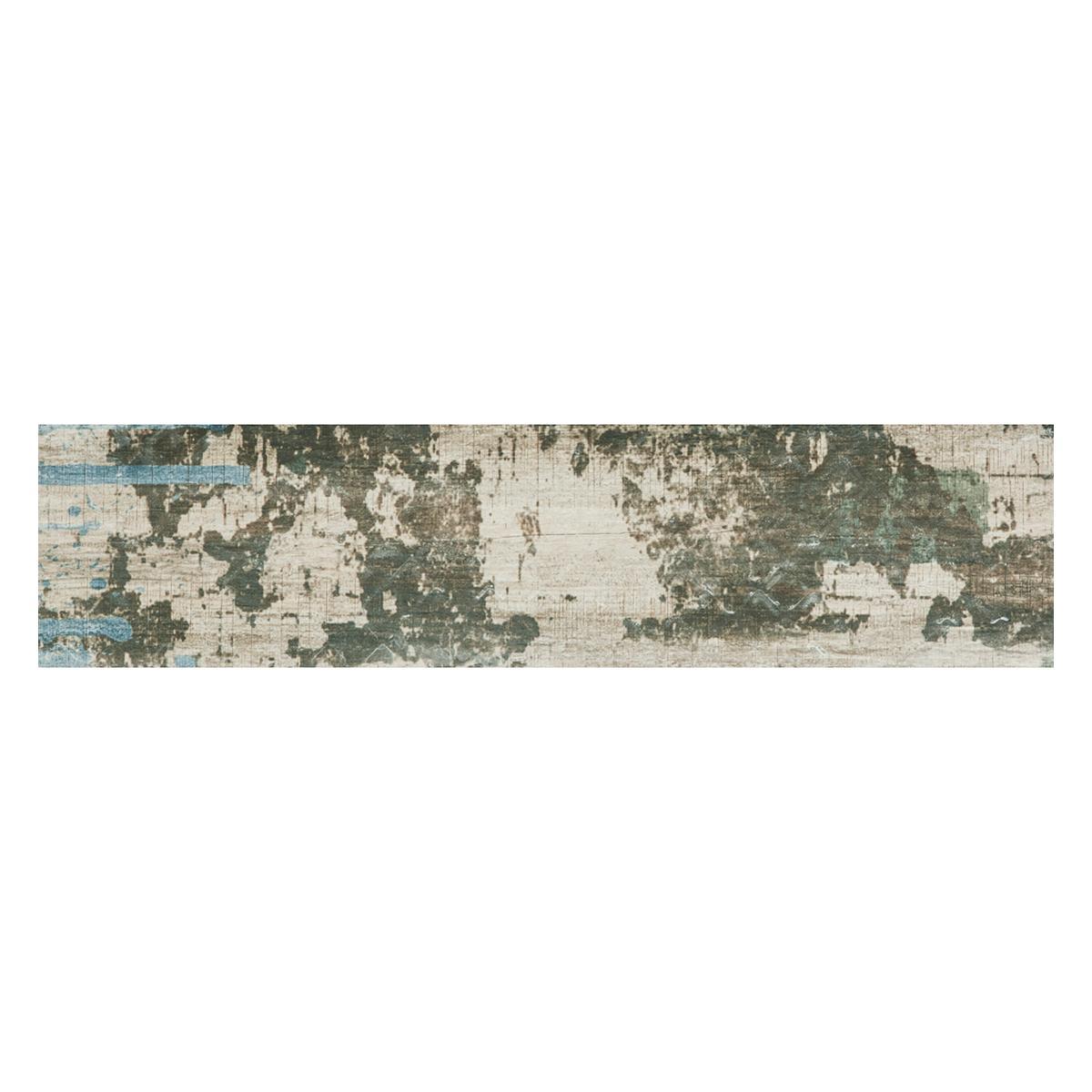 Porcelanato Amelie Multicolor Mate - 15X60 cm - 1.08 m2