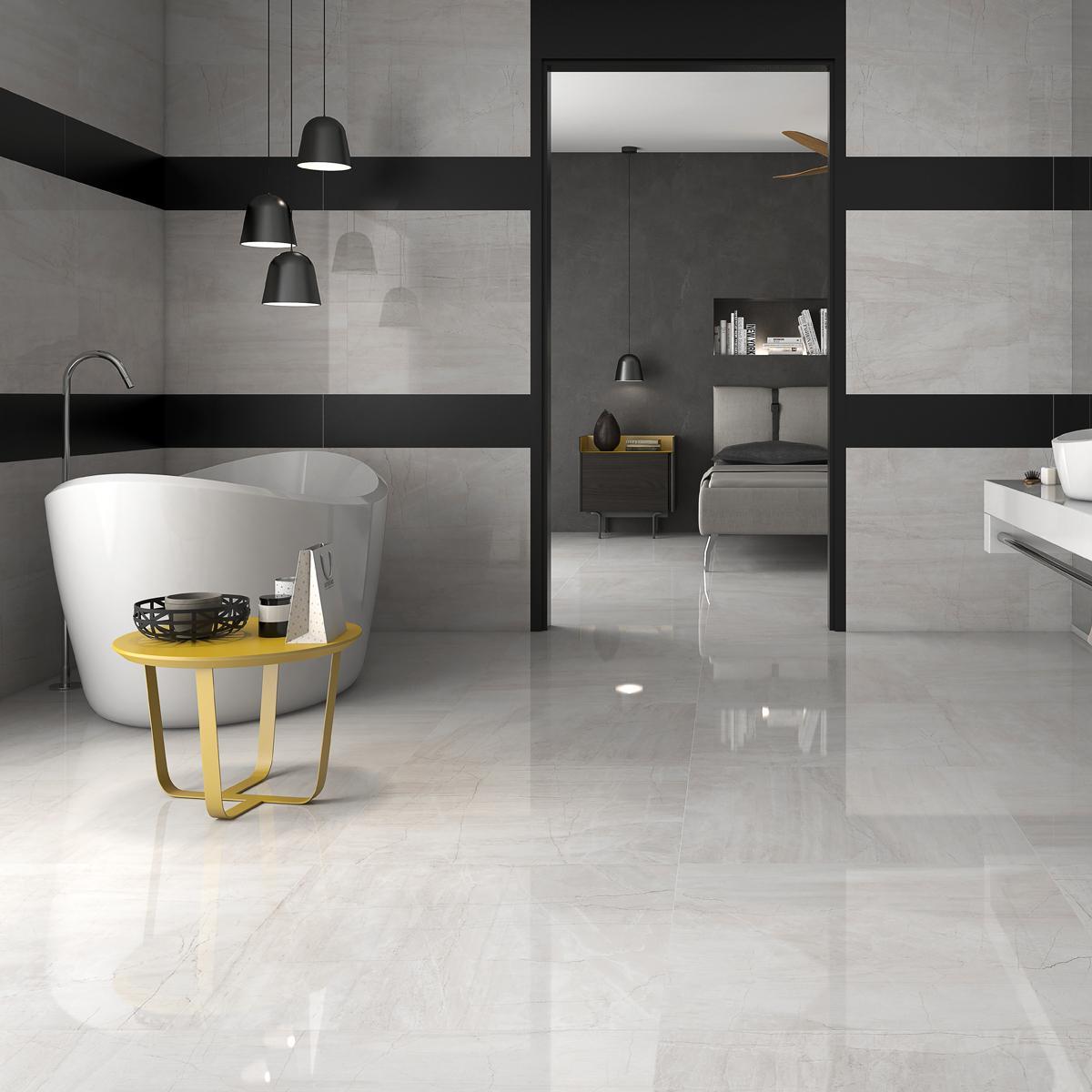 Porcelanato Sweet Blanco Brillante - 60X60 cm - 1.44 m2