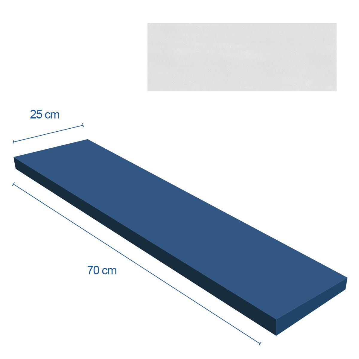 Mayólica Malden Gris Mate - 25X70 cm - 1.58 m2
