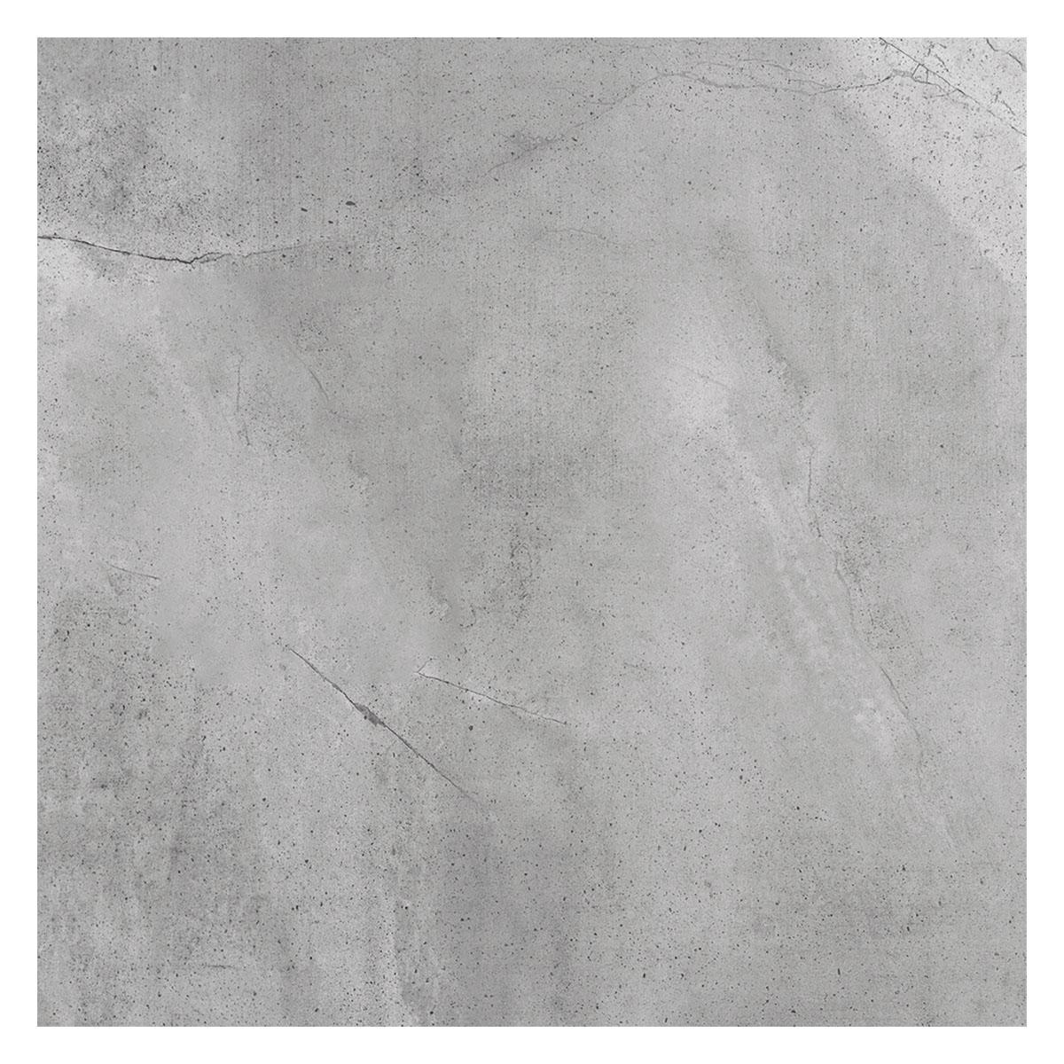 Porcelanato Zement Gris Claro Mate - 60X60 cm - 1.44 m2