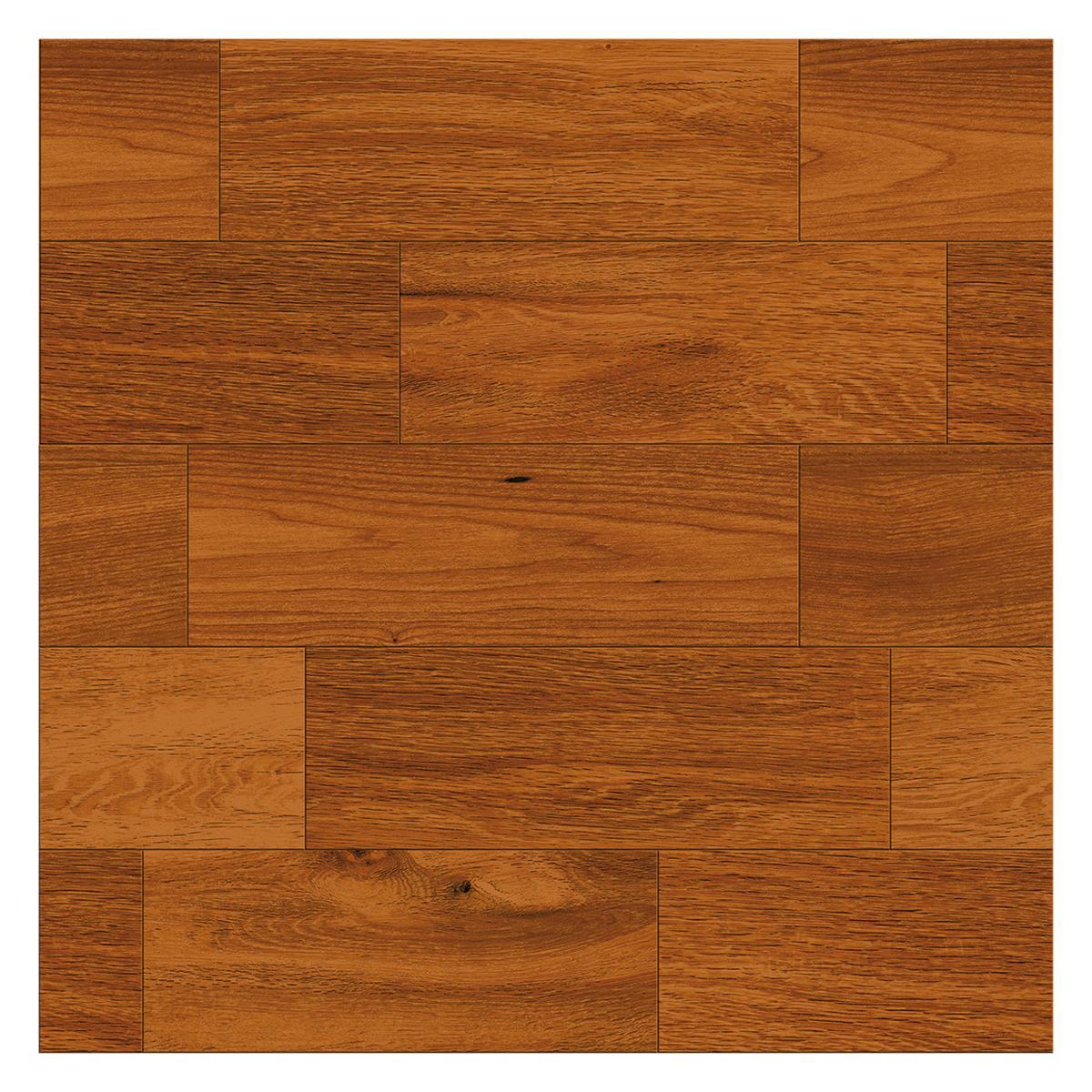 Piso Parqueton Naranja Brillante - 60X60 cm - 1.44 m2