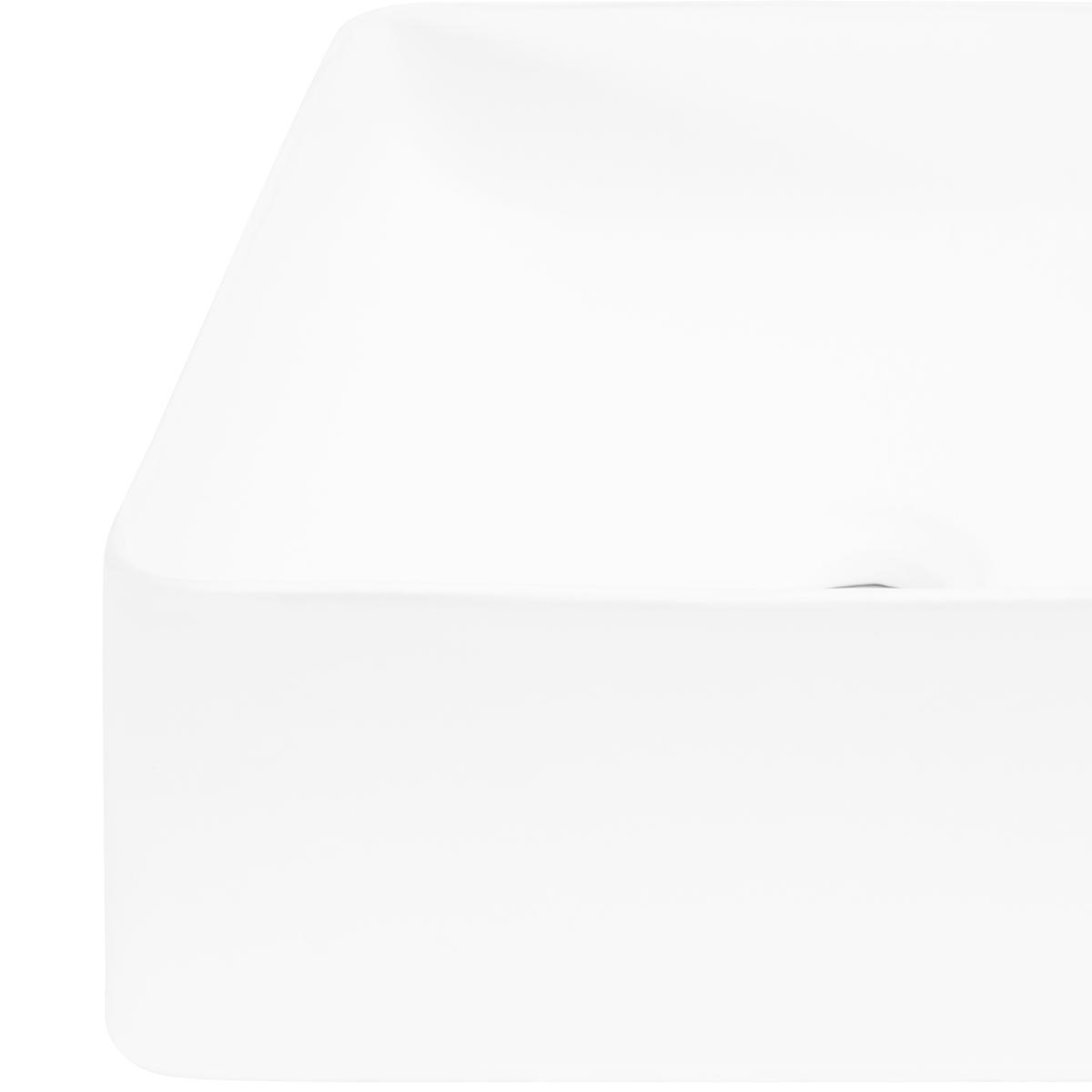 Bowl Alexandra Blanco Mate - 39.5X39.5X14 cm