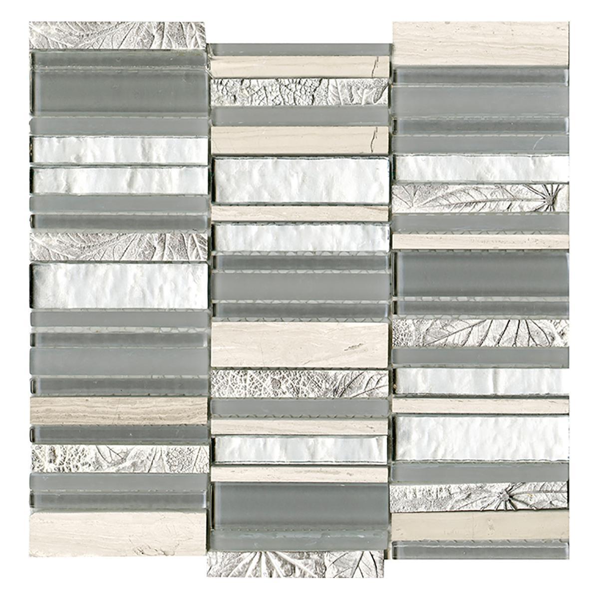 Mosaico Elements Multicolor Brillante/Mate - 29.7X29.7 cm - 1 pza