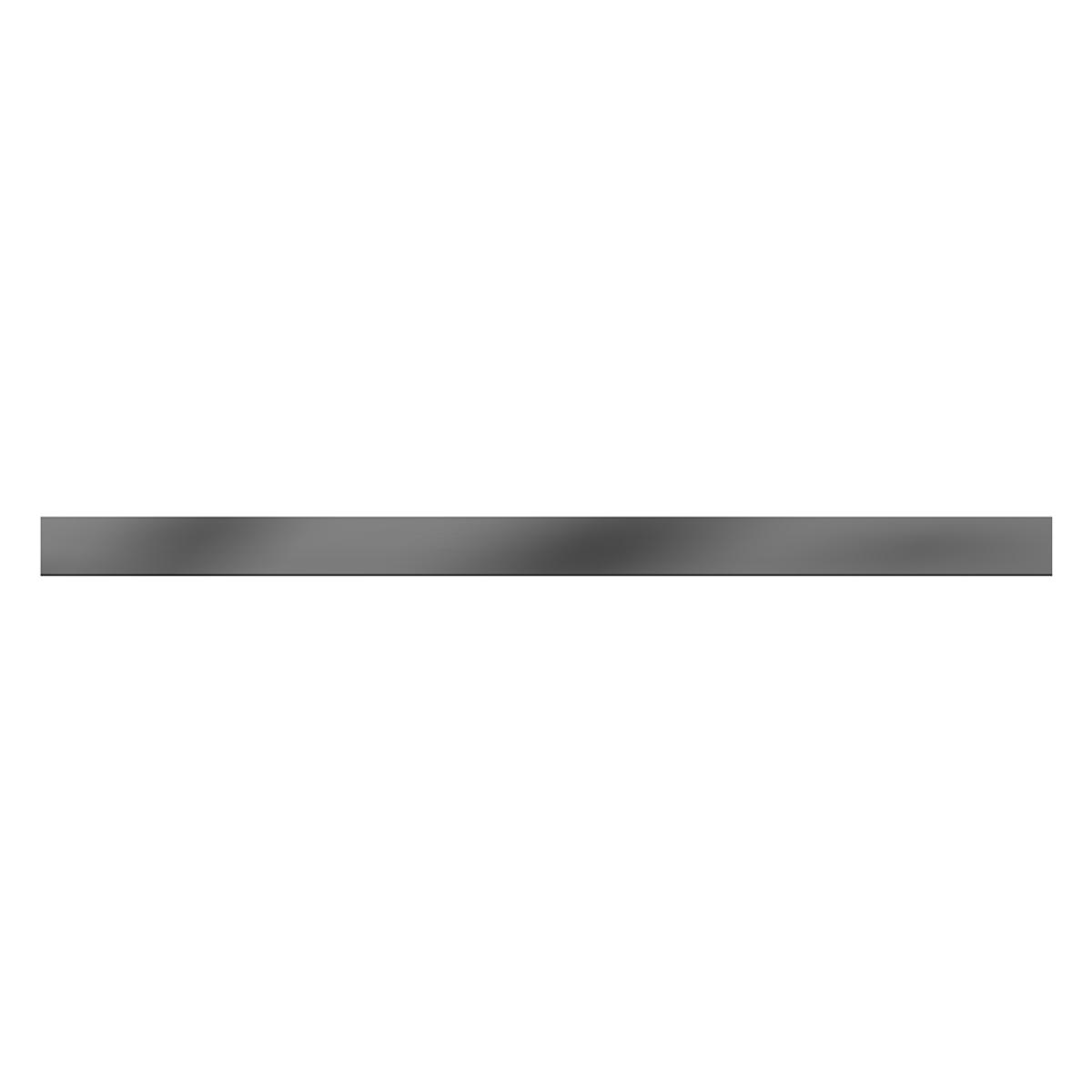 Lapiz Espejo Gris Brillante - 40X2 cm - 1 pza