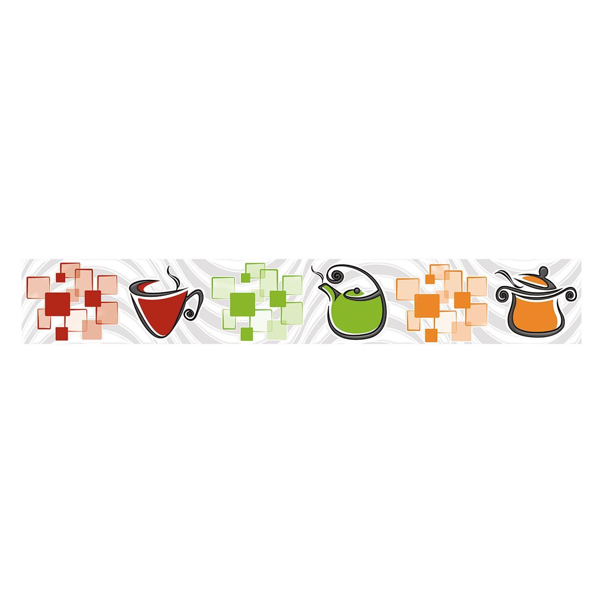 Listelo Kendal Multicolor Brillante - 6X39.5 cm - 1 pza