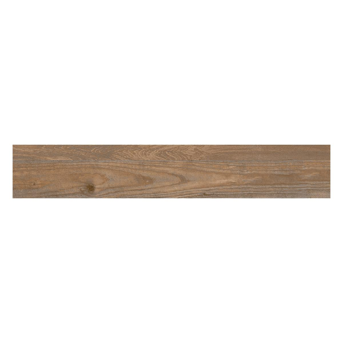 Gres Porcelánico Woodstock II Gris/Marrón Oscuro Mate - 19X118 cm - 1.32 m2