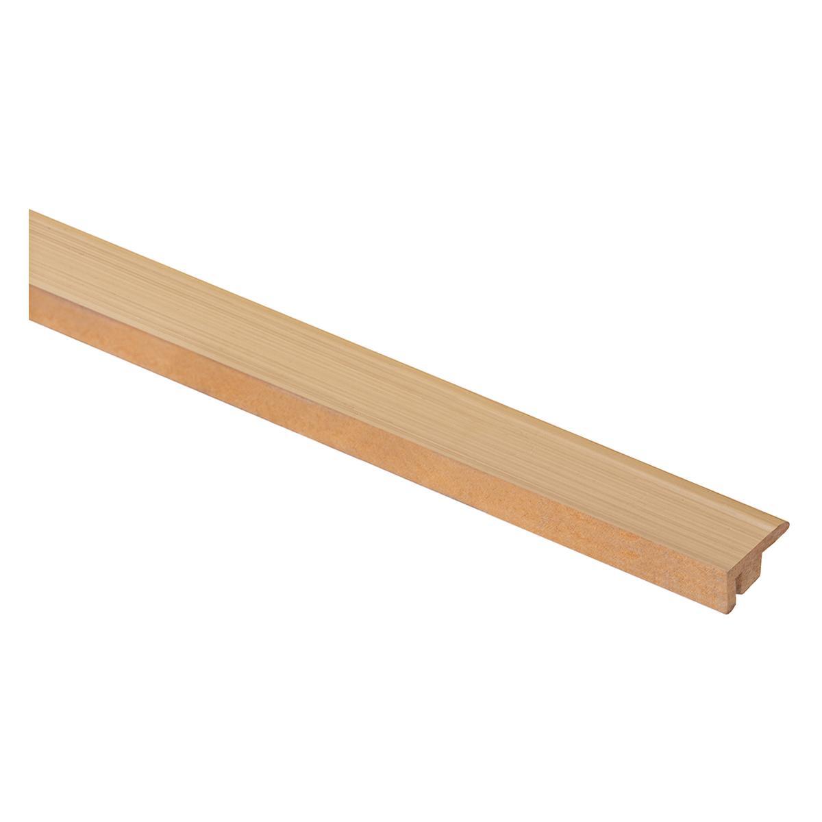 Perfil De Terminación European Classic Roble Linear Mate - 5X200 cm