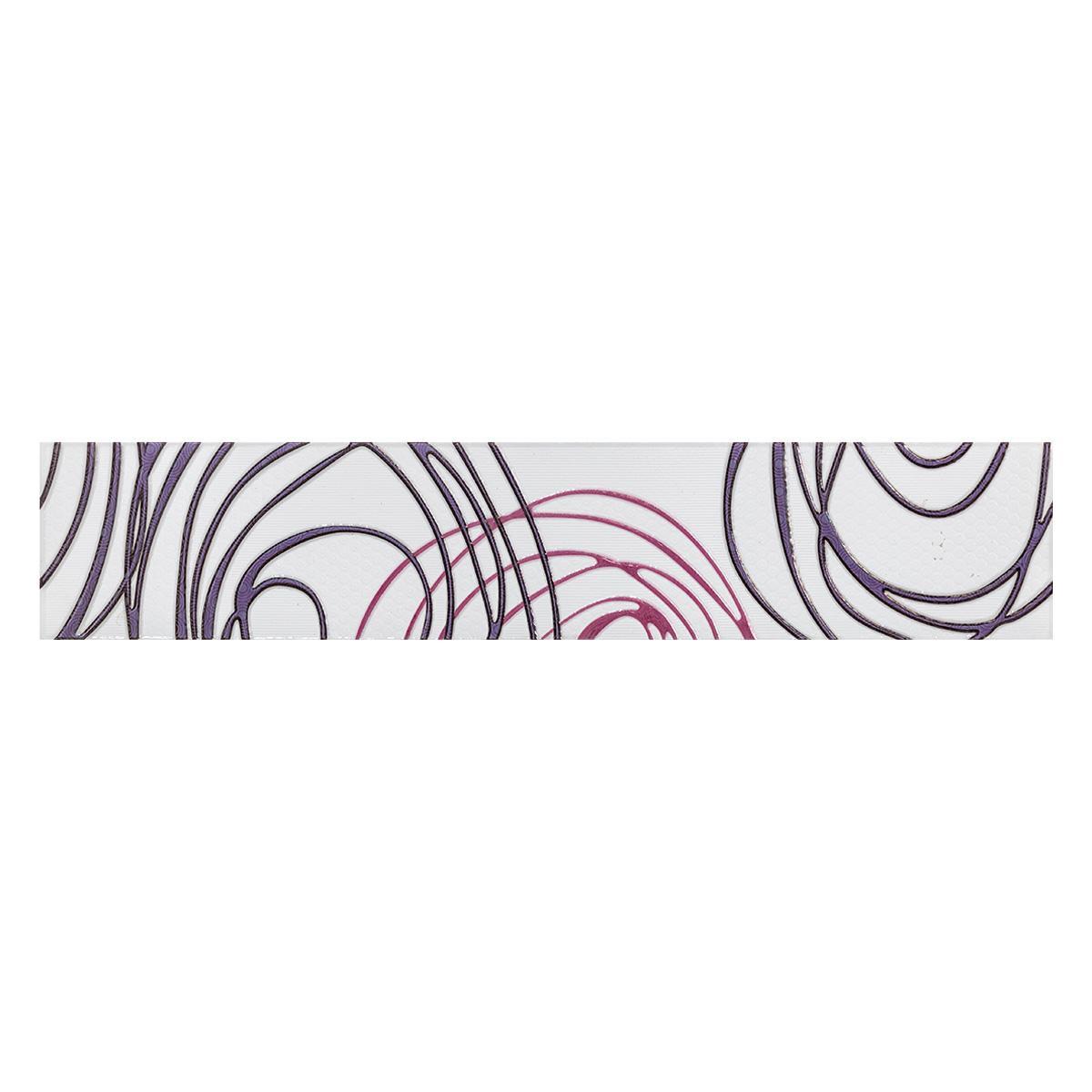 Listelo Emperatriz Multicolor Brillante - 7.7X40 cm