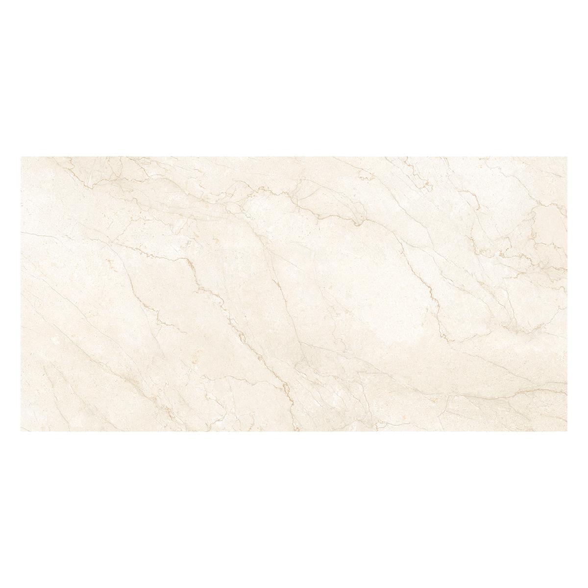 Porcelanato Marmara Hueso Brillante - 60X120 cm - 1.44 m2