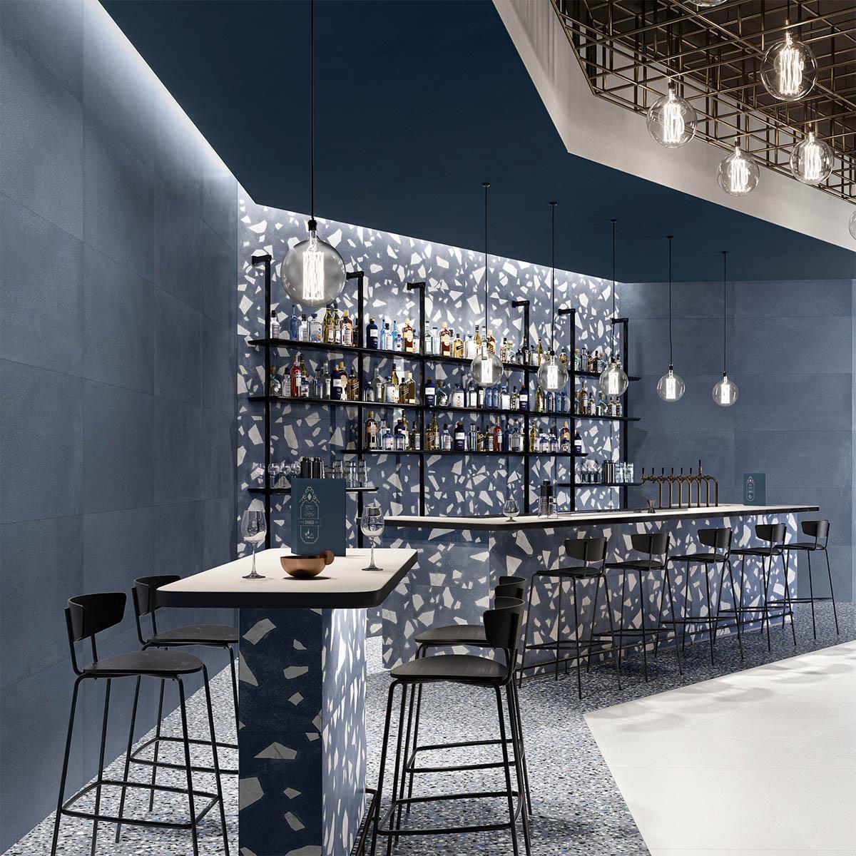Porcelanato Medley Pop Blue Mate - 60X120 cm - 1.44 m2