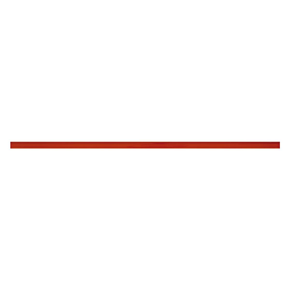 Lapiz Rojo Brillante - 39X1 cm - 1 pza