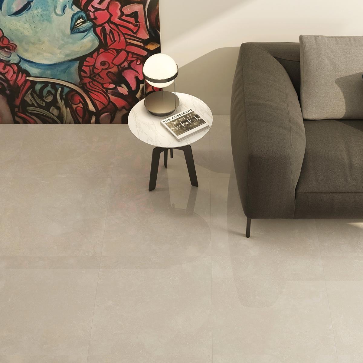 Porcelanato Howen Marfil Brillante - 60.8X60.8 cm - 1.85 m2