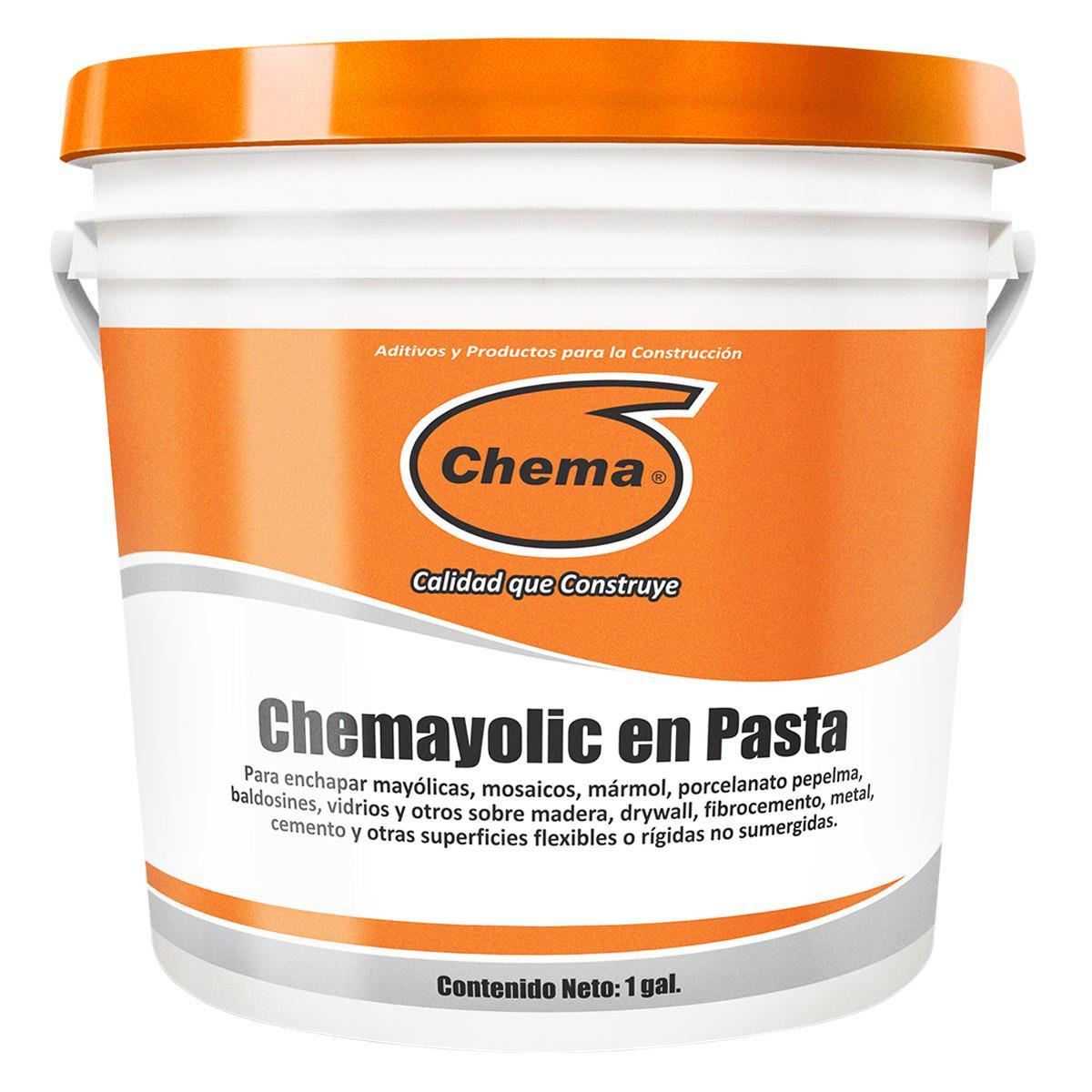 Pegamento En Pasta Chemayolic Galón - Blanco