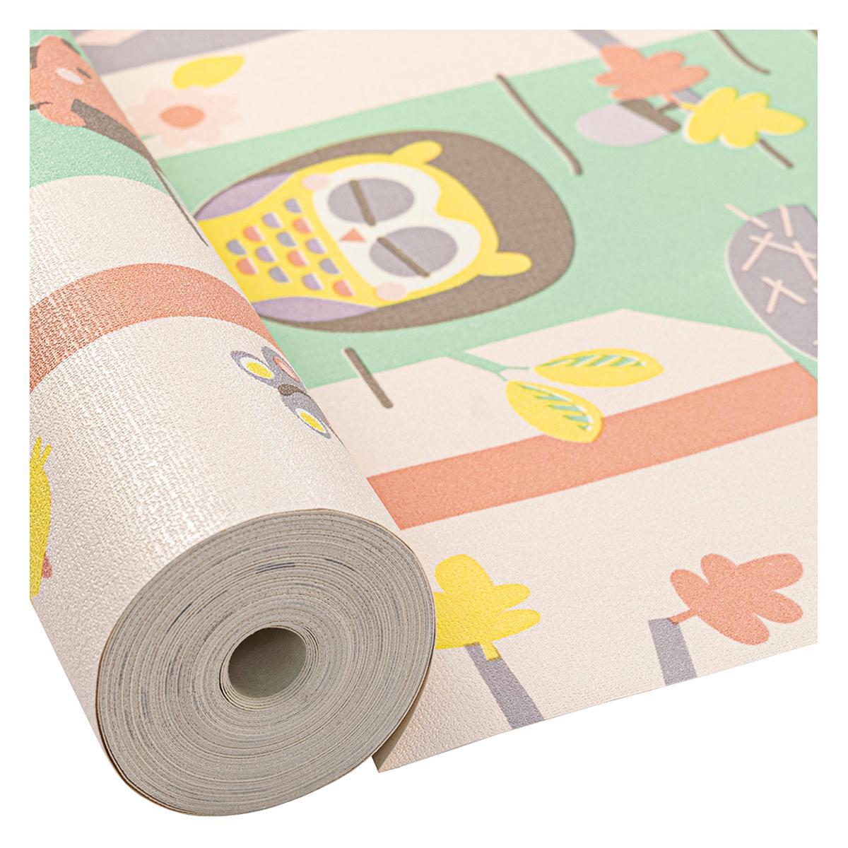 Papel Decorativo Adventures Woody Multicolor Mate - 53X1000 cm - 5.30 m2