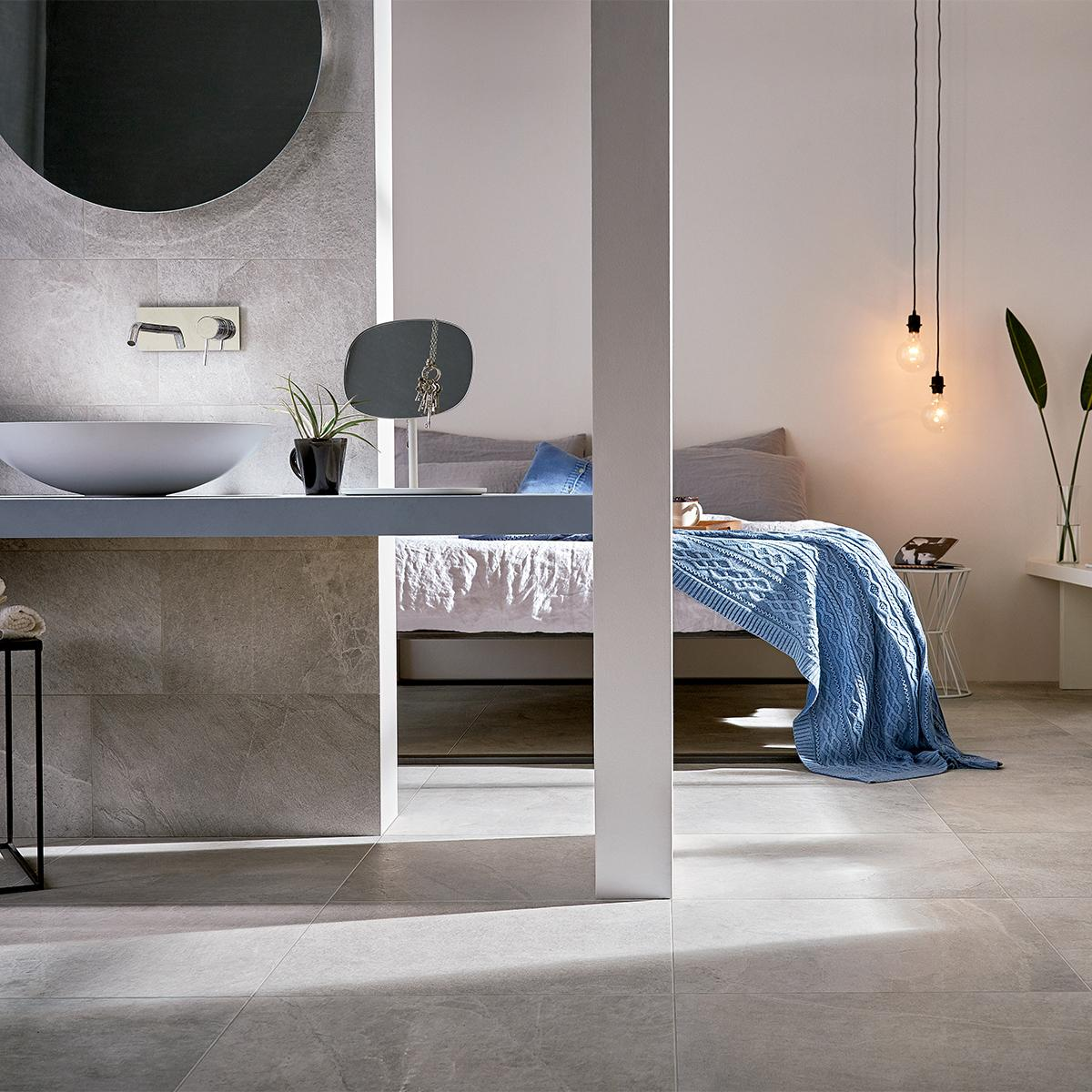 Porcelanato X Rock Blanco Mate - 60X120 cm - 1.44 m2