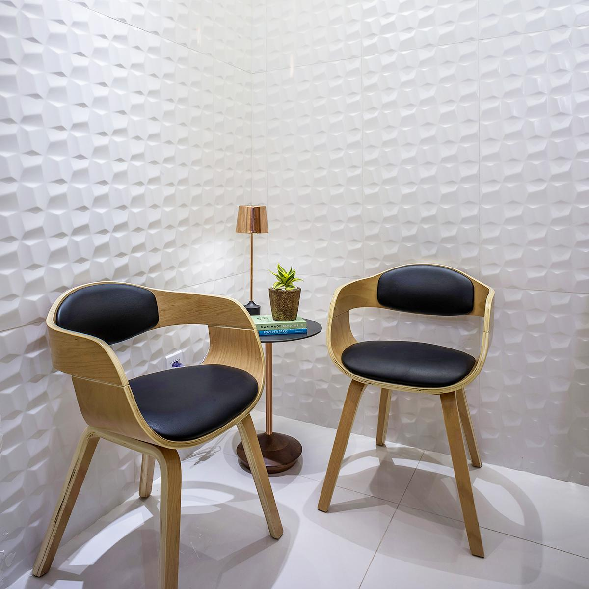 Mayólica Cubic Blanco Mate - 45X90 cm - 1.62 m2