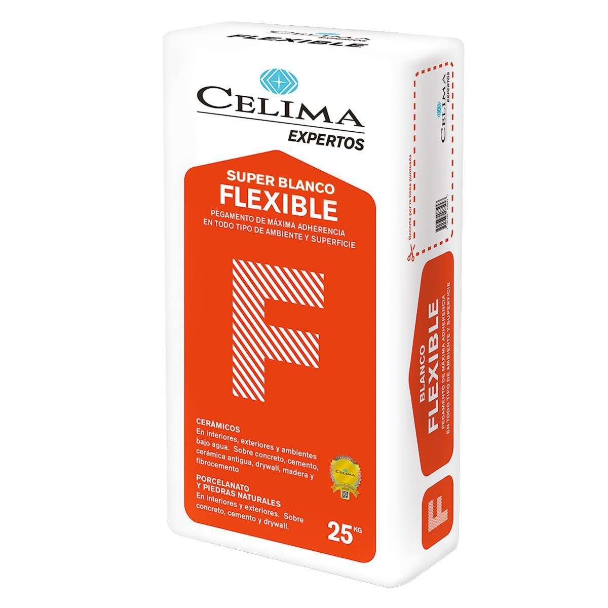 Pegamento En Polvo Súper Blanco Flexible - 25 KG