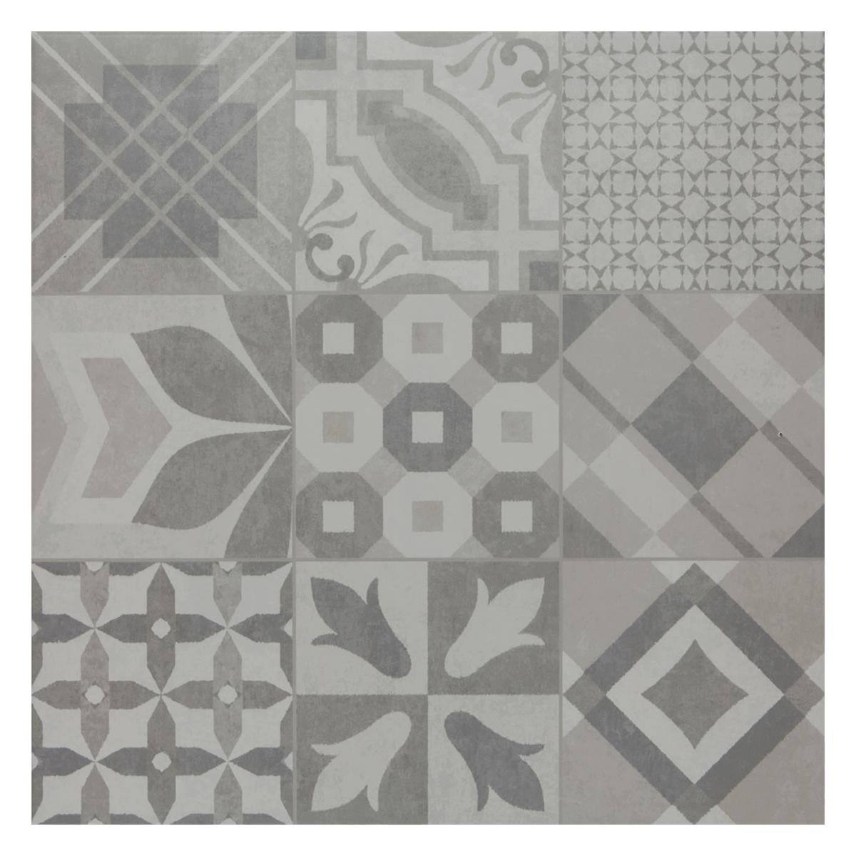 Porcelanato Essence Decor Gris Mate - 60X60 cm - 1.80 m2