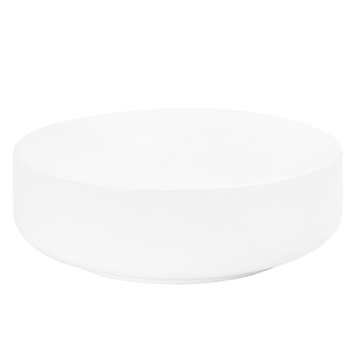 Bowl Lutxi Redondo Blanco Mate - 41.5X41.5X13.5 cm