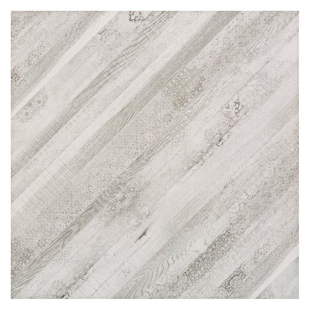 Porcelanato Diagonale Gris Brillante - 60X60 cm - 1.44 m2