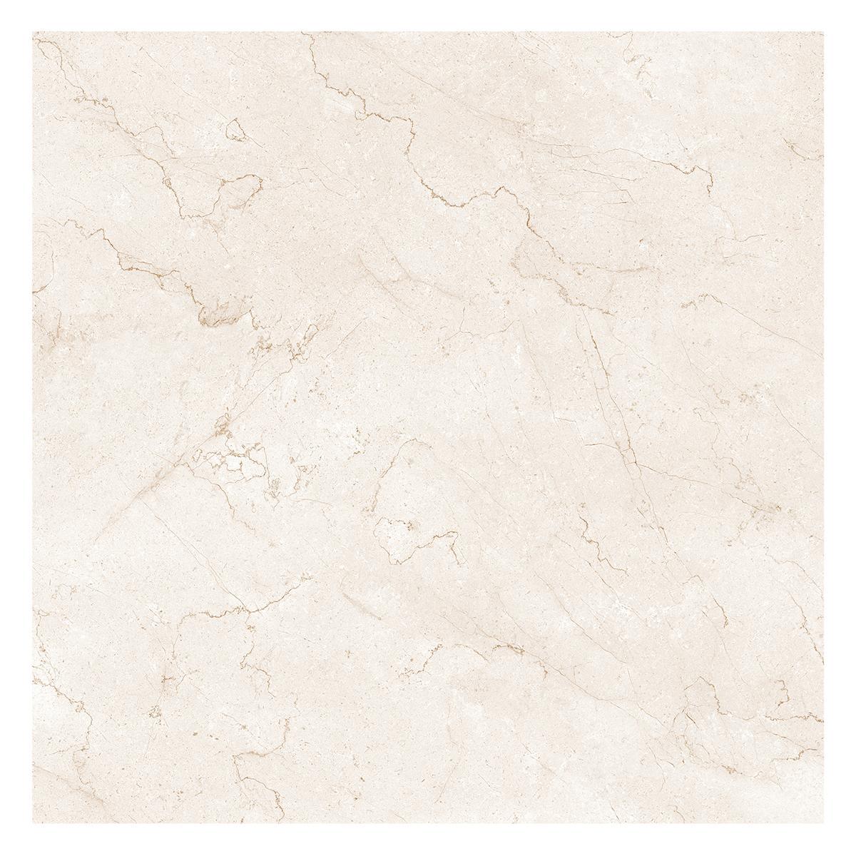 Porcelanato Sarca Beige Brillante - 90X90 cm - 1.62 m2