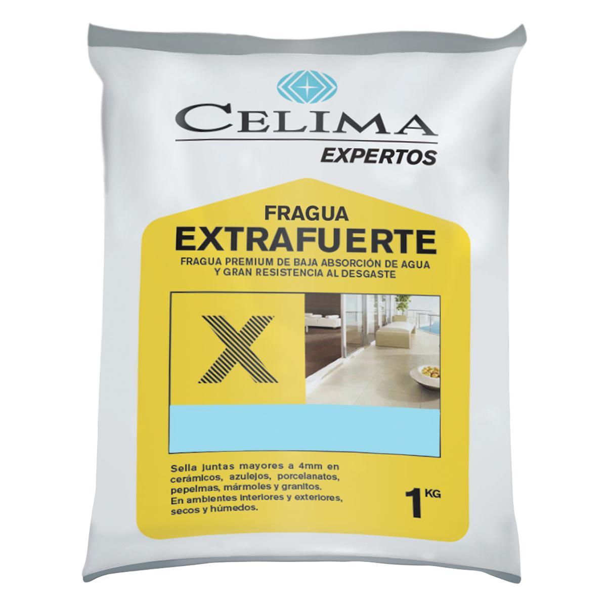 Fragua Premium Extrafuerte Celeste - 1 KG
