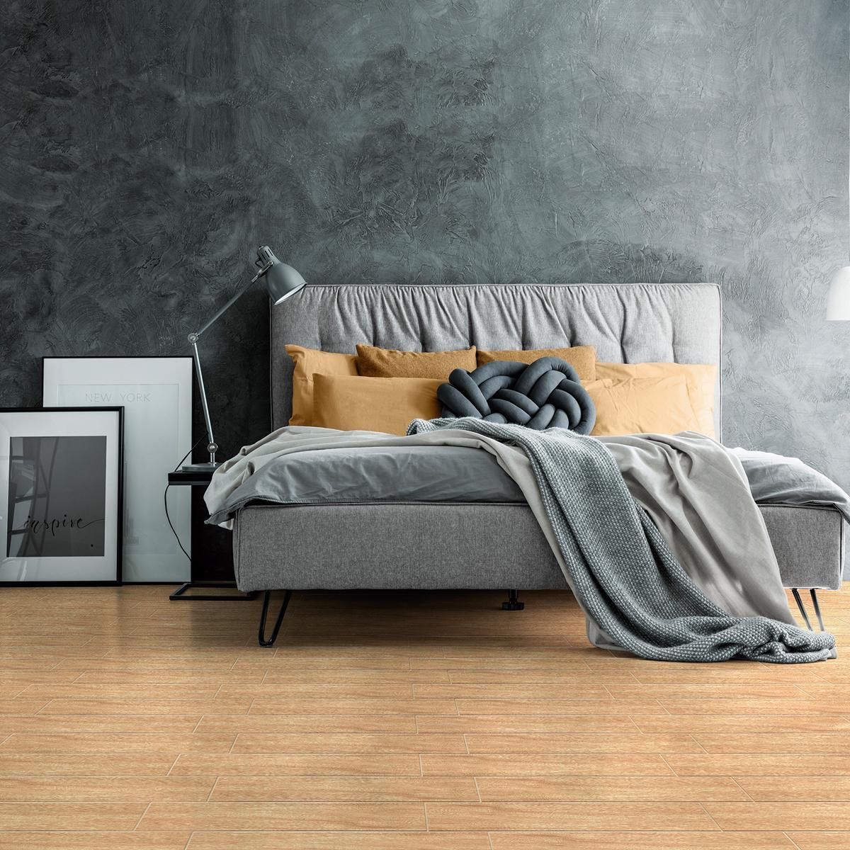 Piso Fresno Perla Mate - 20X60 cm - 1.44 m2