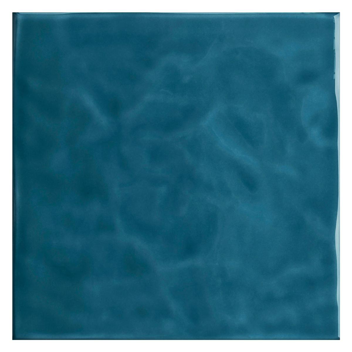 Mayólica Mar Azul Brillante - 20X20 cm - 1.48 m2