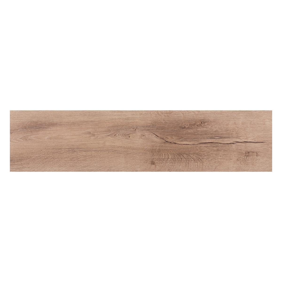 Piso LaminadoEndless Marrón Claro Mate - 24.4X126.1 cm - 2.46 m2