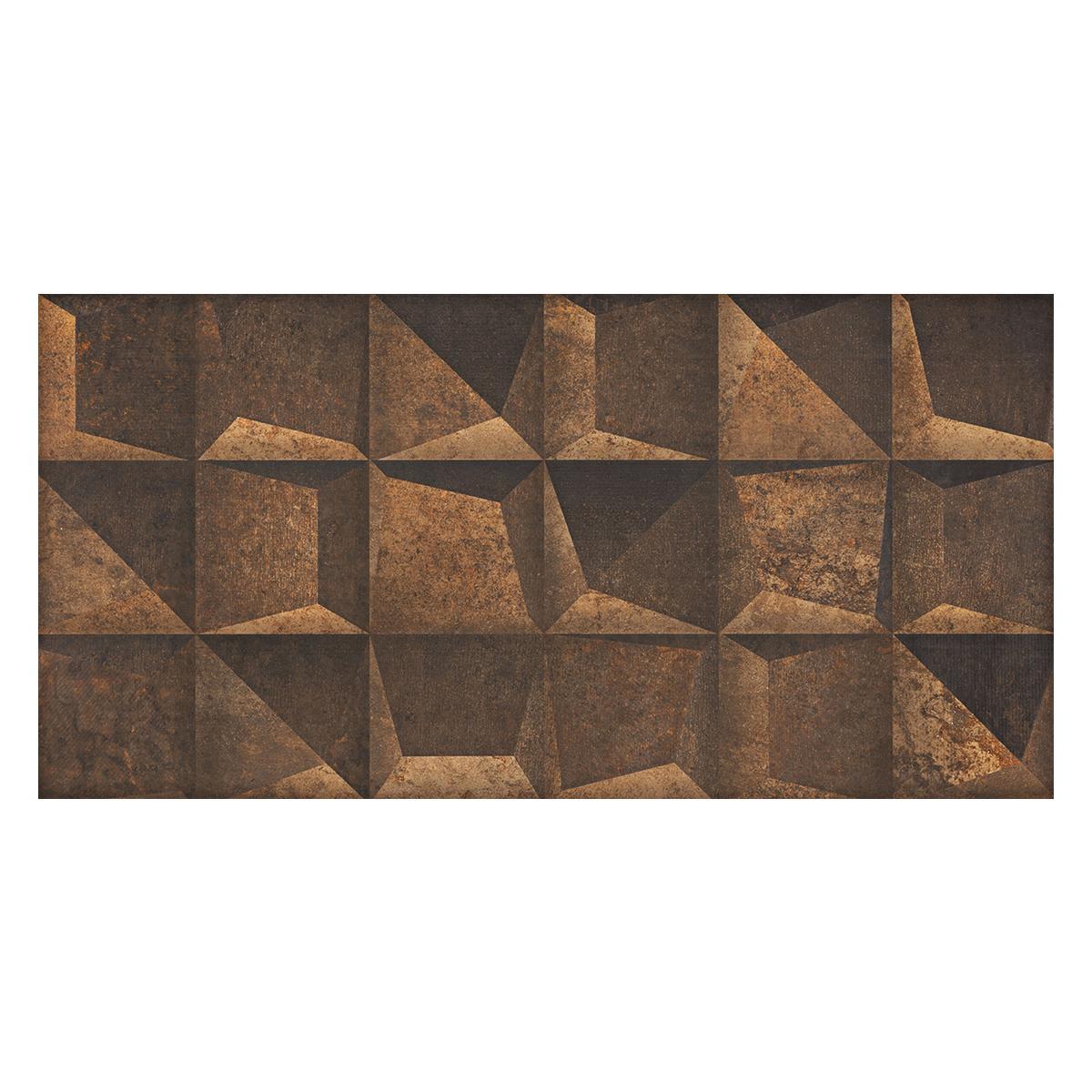 Mayólica Rodin Shadow Marrón Mate - 45X90 cm - 1.62 m2
