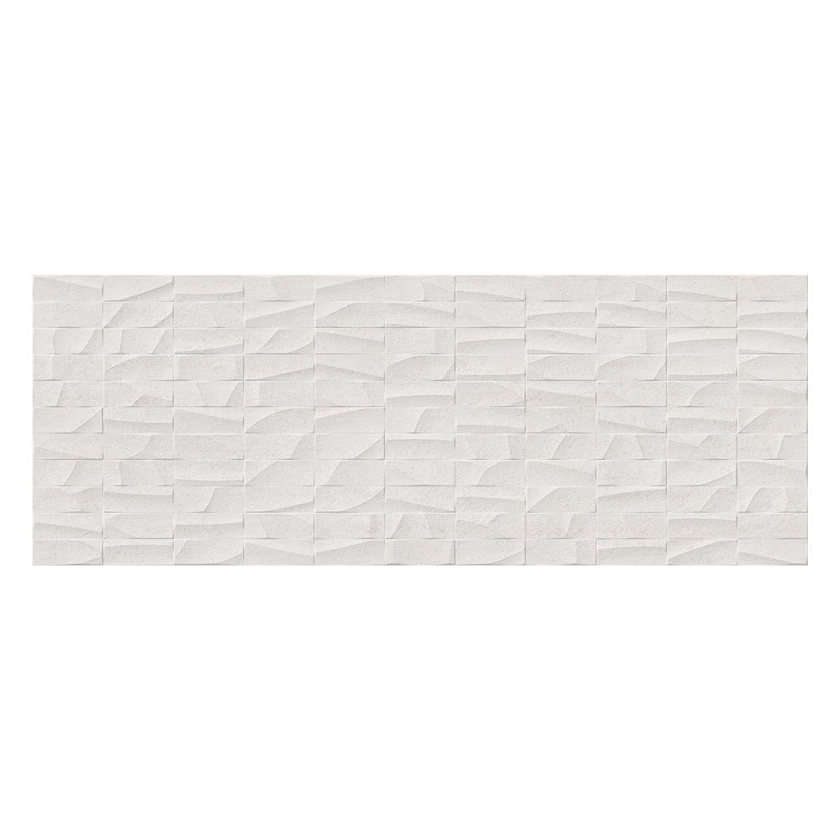 Mayólica Mosaico Nantes Gris Mate - 45X120 cm - 1.62 m2