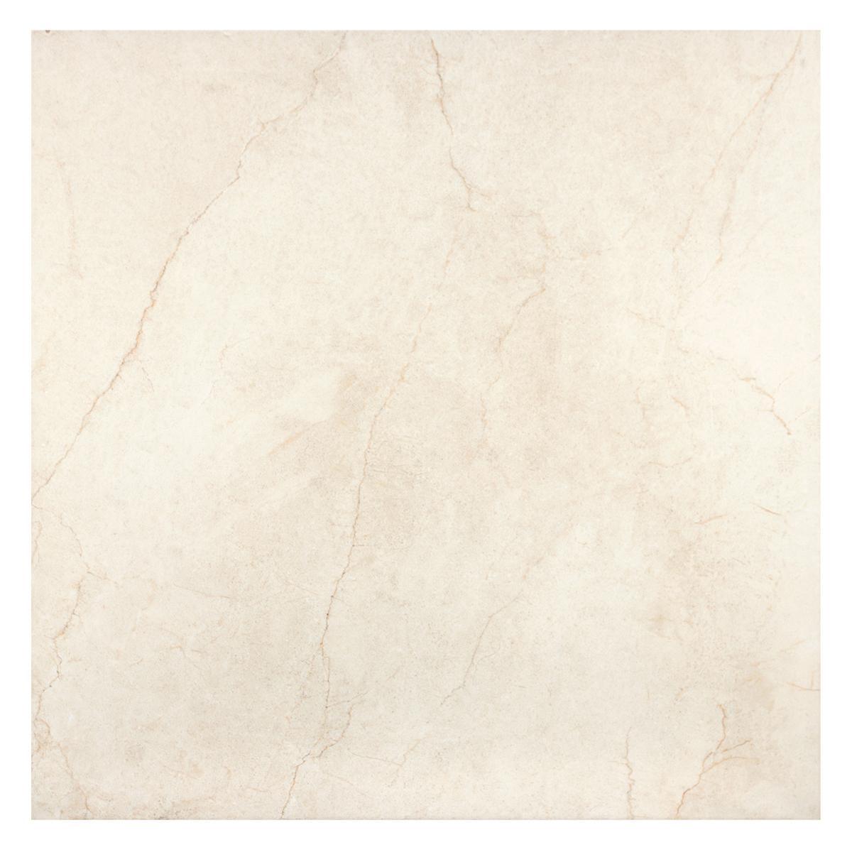 Porcelanato Intra Marfil Brillante - 60X60 cm - 1.44 m2