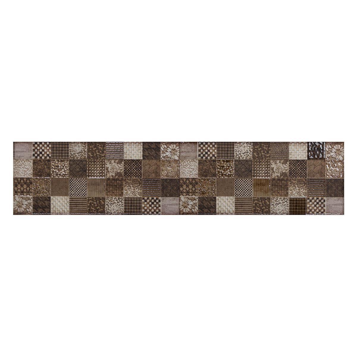 Listelo Bazar Multicolor Semi Brillante - 10X45 cm