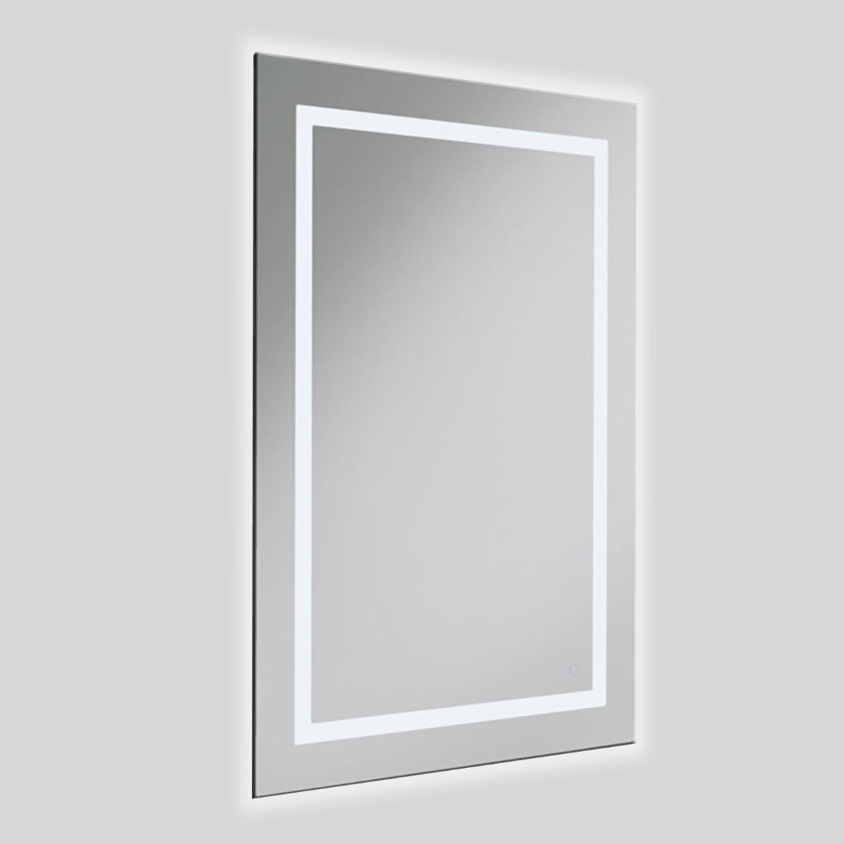 Espejo Square 4 Luz LED
