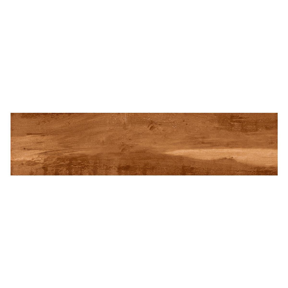 Porcelanato Canela Marrón Mate - 20.2X86.5 cm - 1.40 m2