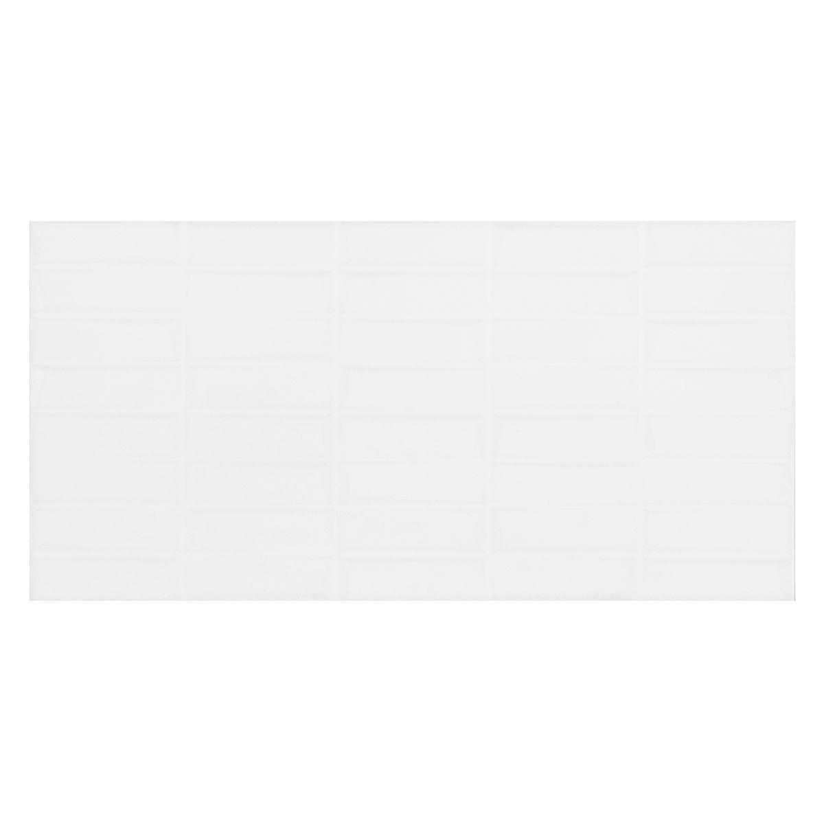Mayólica Brique Blanco Brillante - 30X60 cm - 1.44 m2