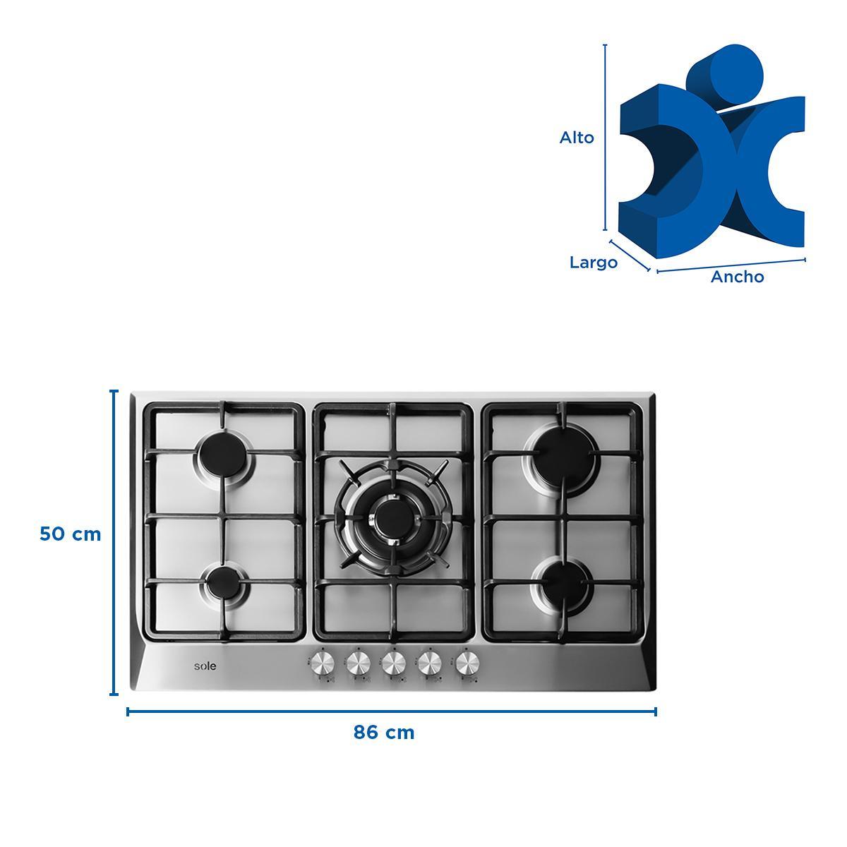 Cocina Eléctrica SOLCO038 Empotrable