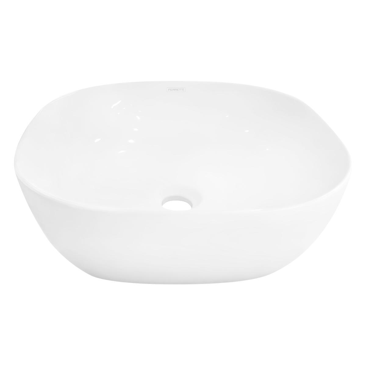 Bowl Hermes Slim 42 Para Sobreponer - Blanco