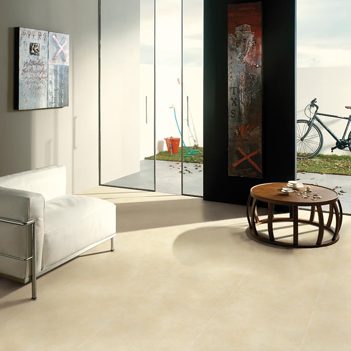 Piso Concreto Marfil Mate - 45X45 cm - 2.08 m2