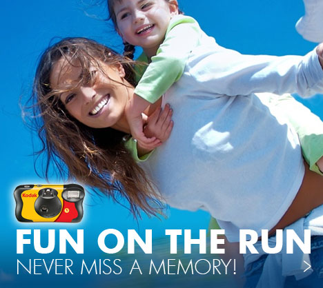 Fun on the run  - Never miss a memory!