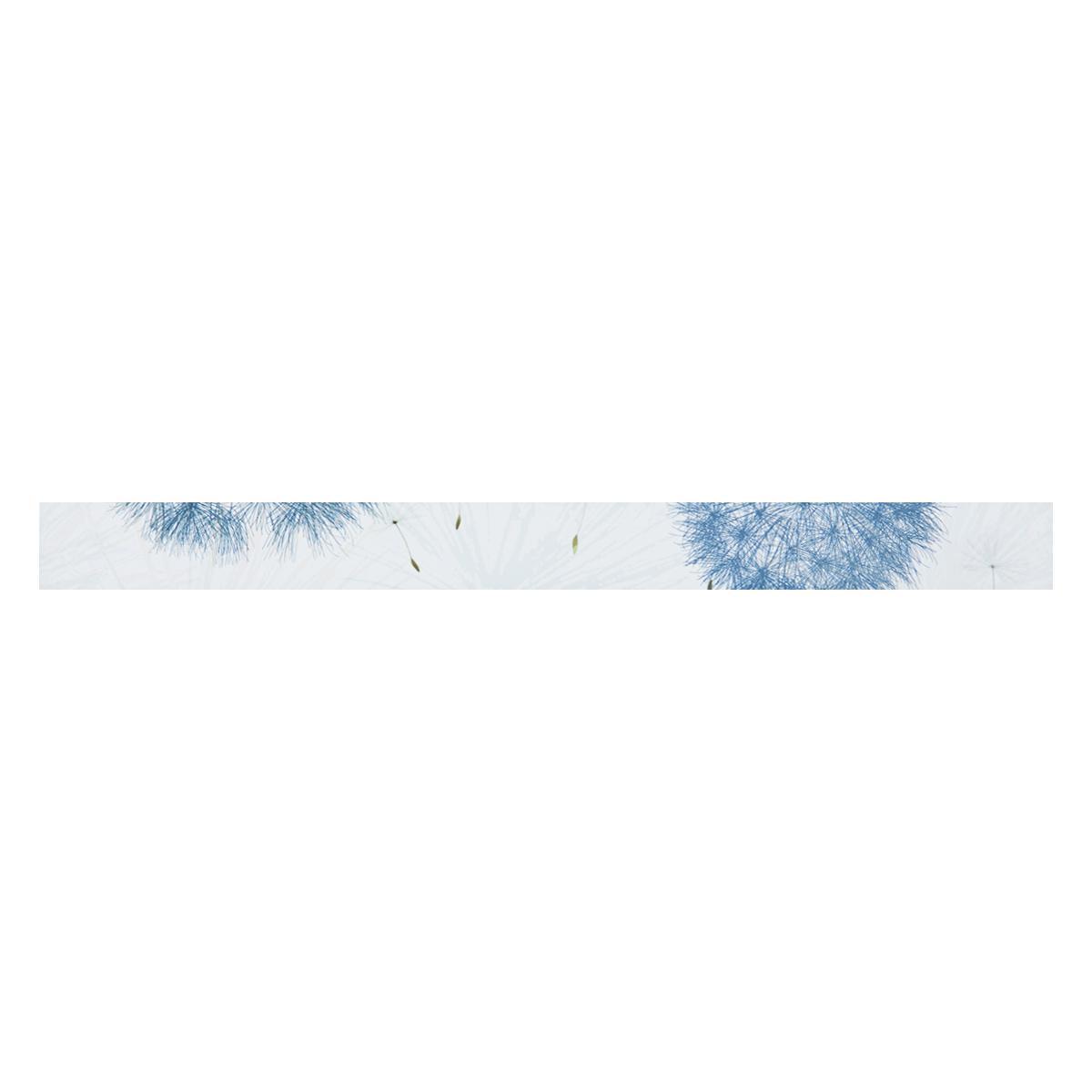 Listelo Steps Celeste/Blanco Mate - 7X75 - 1 Pza