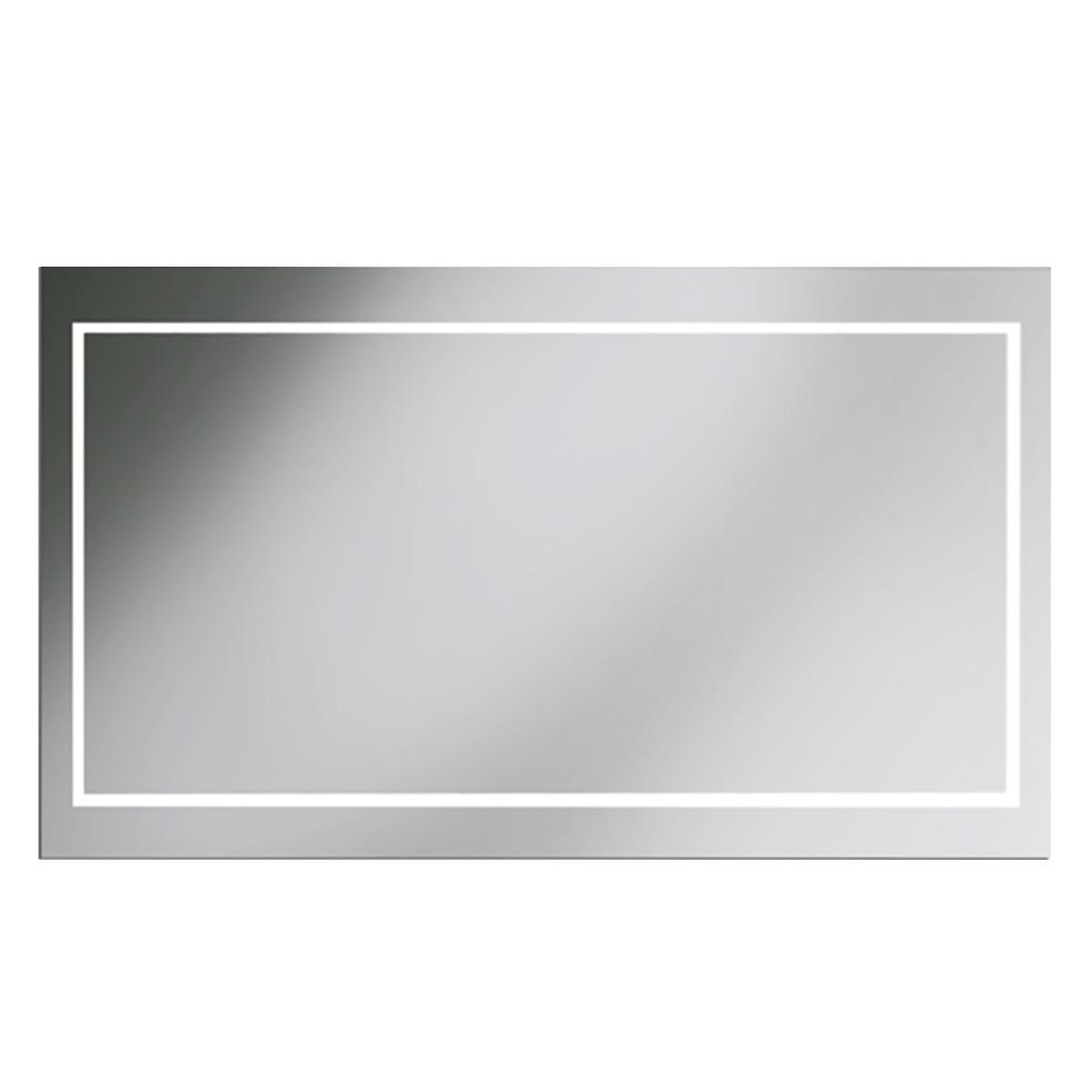 Espejo Vanisa Cristal Luz LED 4MM