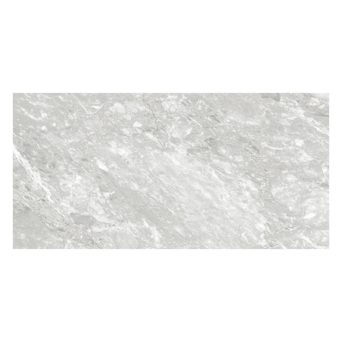Porcelanato Marvel Blanco/Gris Brillante - 58.6X118.7 cm - 1.39 m2
