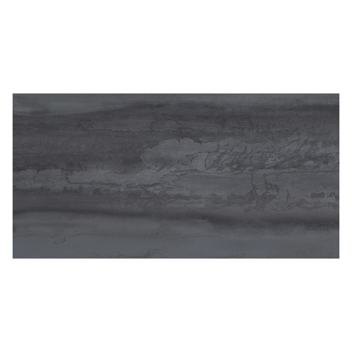 Porcelanato Metallica Negro Mate - 60X120 cm - 1.44 m2