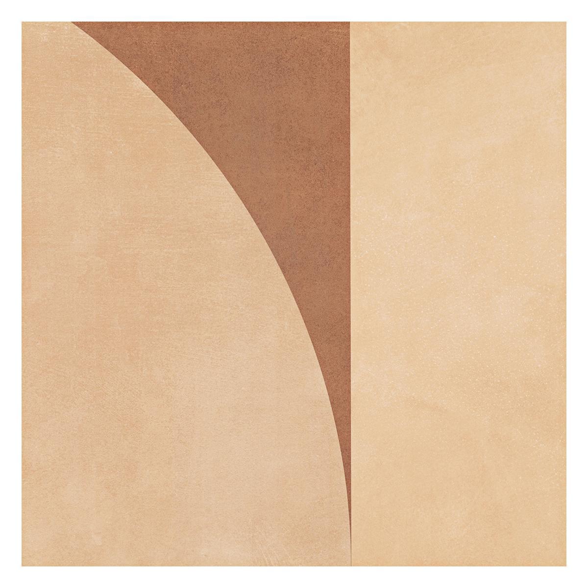 Porcelanato Palace Marrón - Beige Mate - 59X59 cm - 1.39 m2