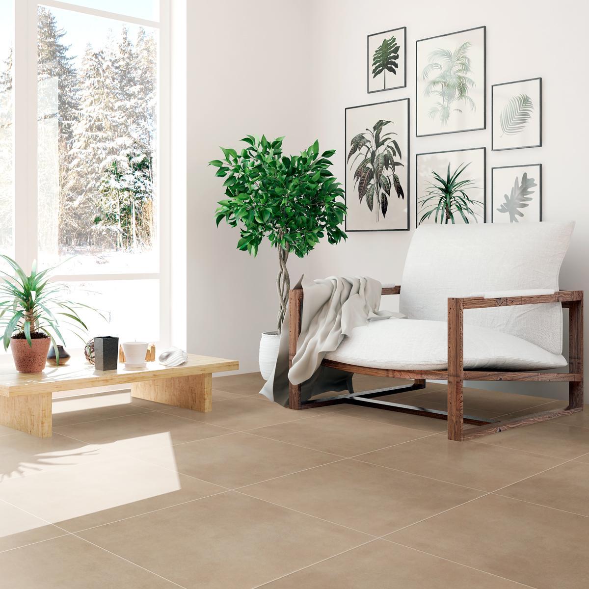 Porcelanato Viena Marfil Mate - 60X60 cm - 1.44 m2